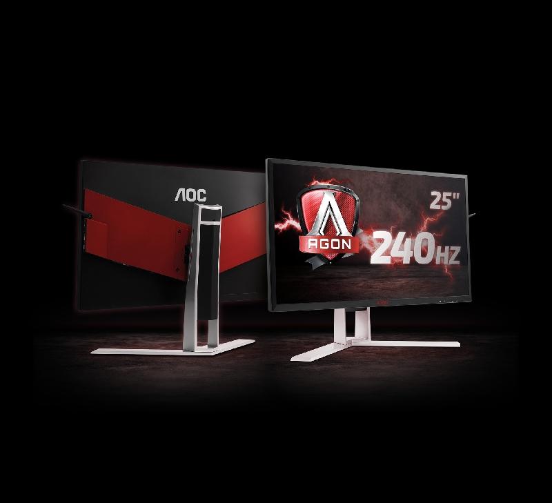 AOC presenta el monitor de AGON de 240Hz con G-SYNC