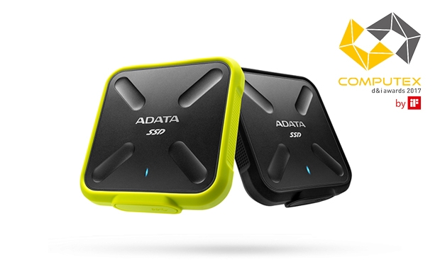 El disco SSD externo de ADATA SD700 obtuvo el premio Computex d&i 2017
