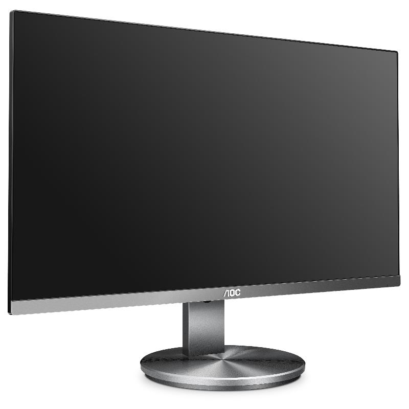 AOC presenta cinco nuevos monitores profesionales sin marco en tres lados