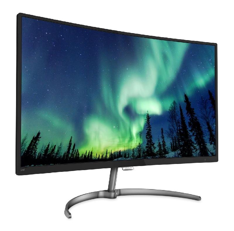 Las mejores vistas de la casa: La nueva pantalla LCD de 32 pulgadas de Philips ofrece colores asombrosos con un elegante diseño curvo