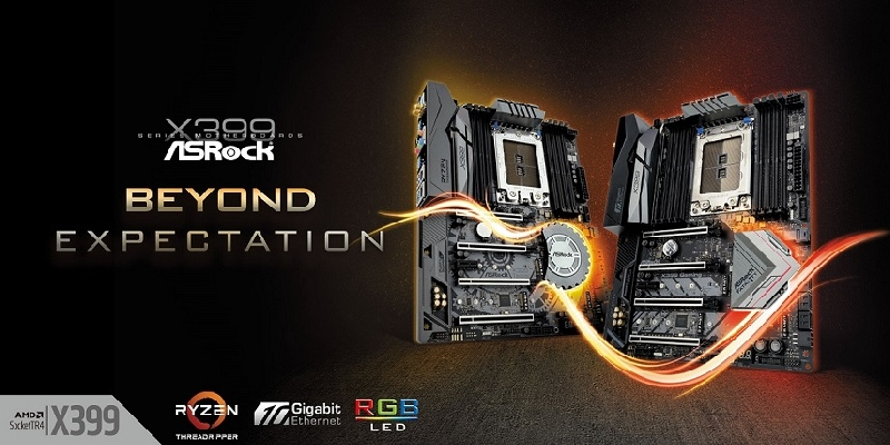 Llegan los motherboards AMD Ryzen Threadripper X399 de ASRock