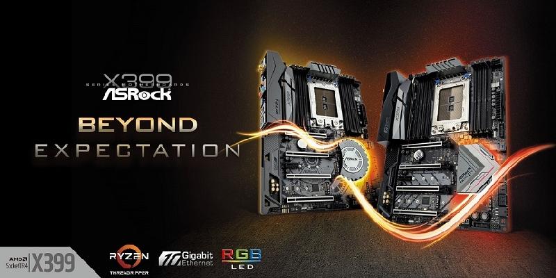 Llegan los motherboards AMD Ryzen Threadripper X399 de ASRock