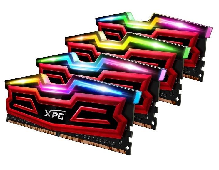 ADATA presenta las memorias XPG SPECTRIX D40 RGB DDR4