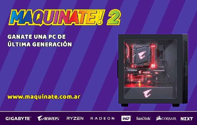 GIGABYTE presenta el concurso Maquinate#2