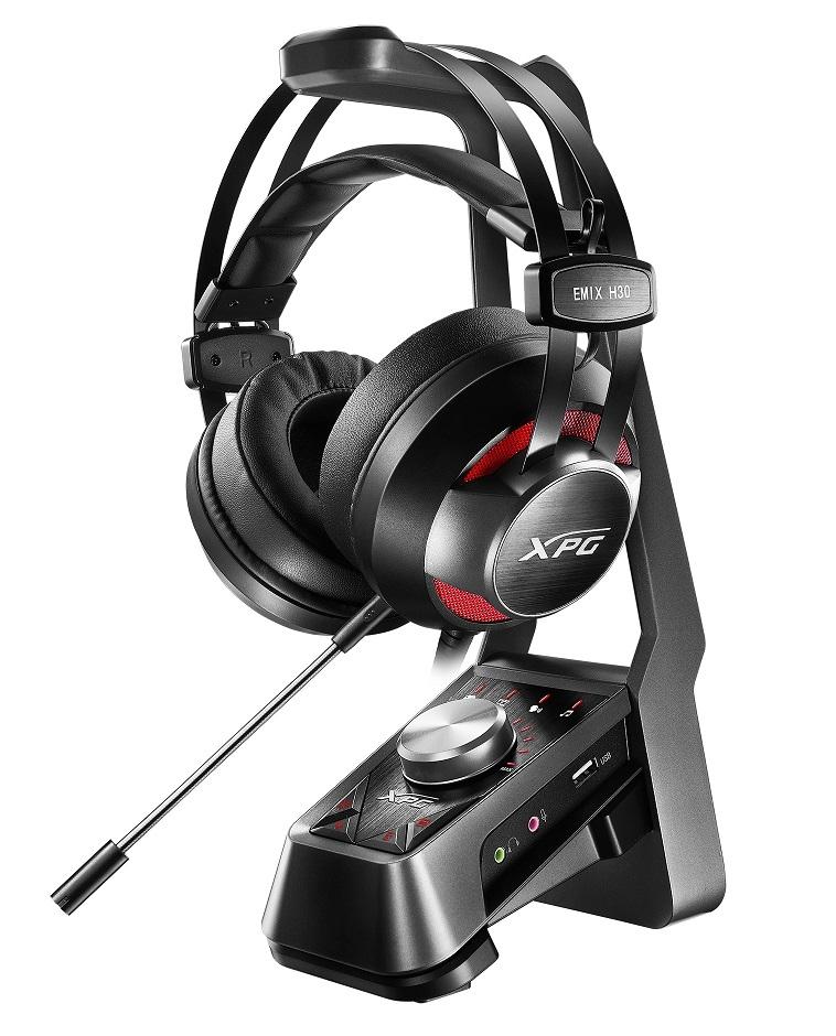 ADATA presenta los headsets XPG EMIX H30, I30 y el amplifica...