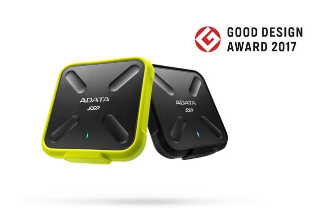 El disco externo SSD SD700 de ADATA SD700 obtuvo el premio Good Design Award 2017