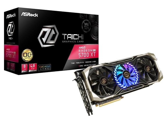 ASRock presenta las placas de video Radeon RX 5700 XT de la línea Taichi X Series