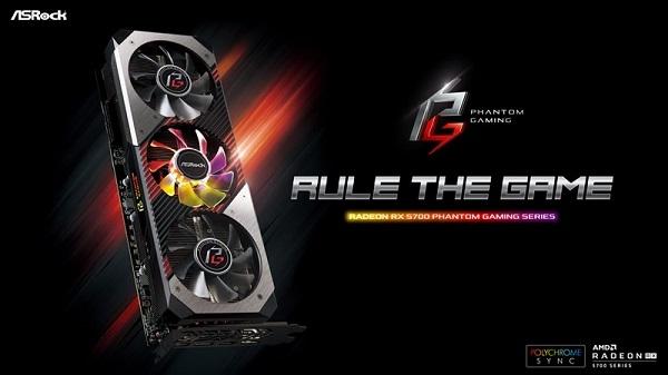 ASRock presenta la línea de placas de video Phantom Gaming Radeon RX 5700