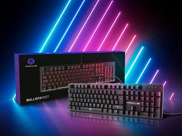 PRIMUS presenta el teclado Ballista100T