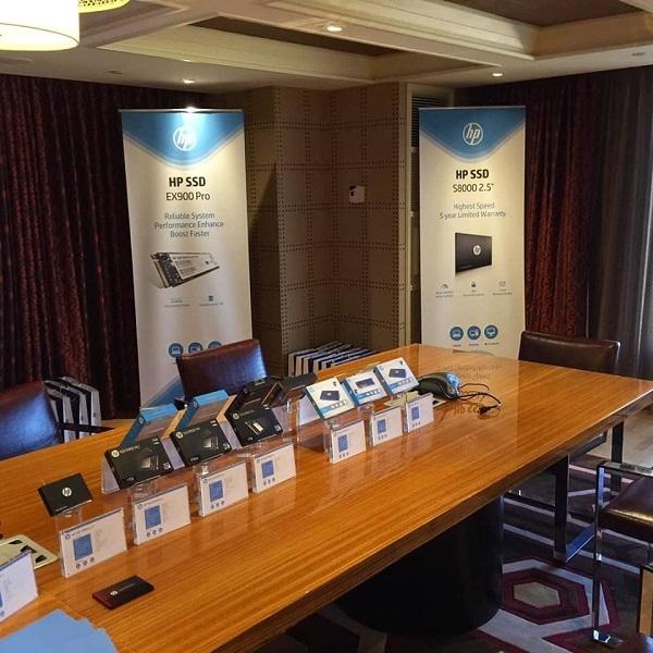 Biwin presentó soluciones de HP en CES 2020
