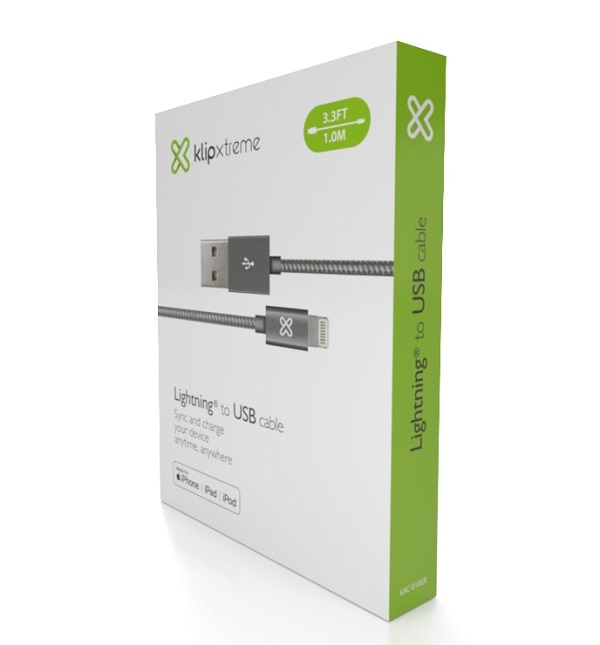Klip Xtreme presenta la Línea de Cables Lightning