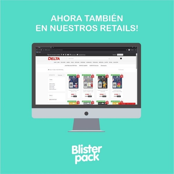 DELTA anunci� una nueva alianza estrat�gica con Blister Pack