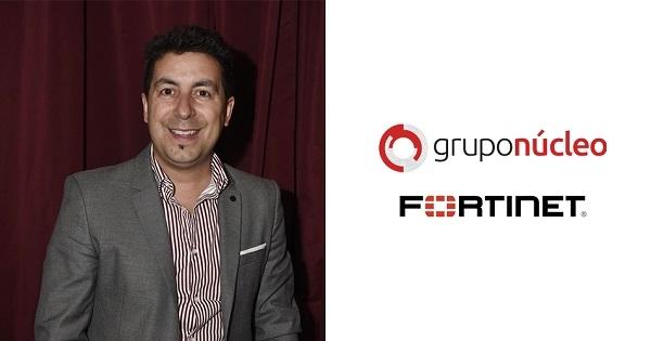 Grupo N鷆leo realiza una alianza estrat間ica con Fortinet