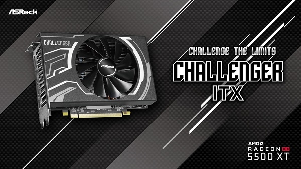 ASRock presenta la placa de video Radeon RX 5500 XT Challeng...