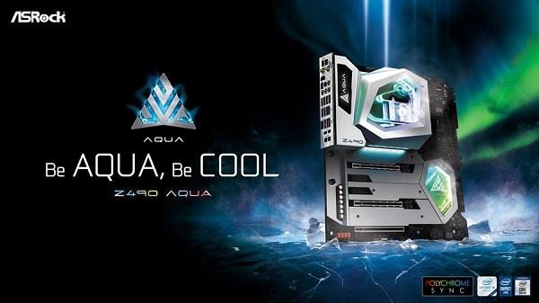 ASRock present� Z490 AQUA para gamers