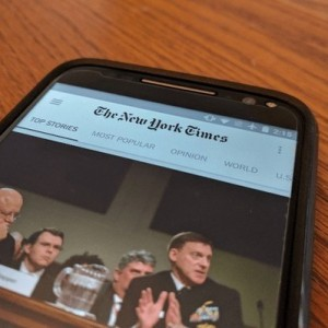 Apple elimina la aplicación de The New York Times para la App Store de China